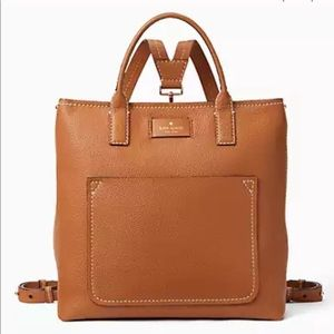 Kate Spade leather purse/backpack